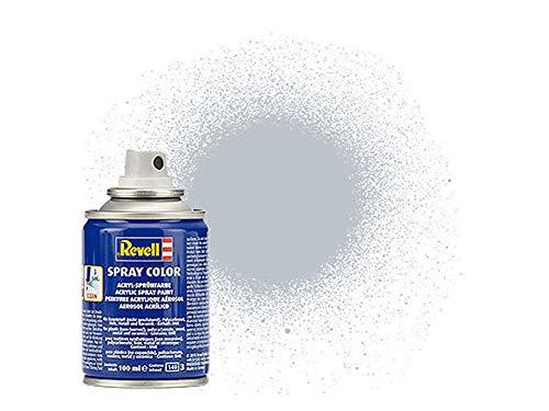Revell 34199 Spraydose aluminium, metallic Spray Color, Farben in der praktischen 100-ml-Sprühdose