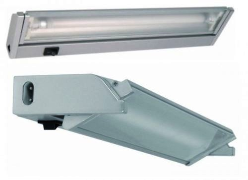 Schwenkbare Wandleuchte 8W 35cm Unterschrank Küchenlampe Küche Lampe 8W verstellbar T5 Titan