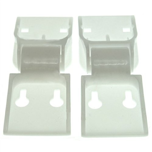 Cardini della porta Norfrost C6AEW C4 petto congelatore contrappeso coperchio (confezione da 2)
