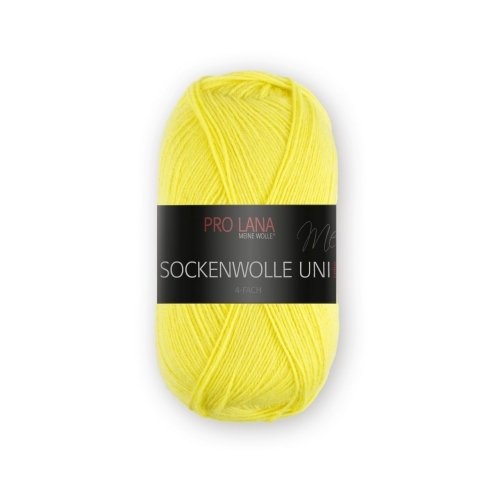 PRO LANA Sockenwolle Uni 4Fädig - Farbe: 420 - 100 g / ca. 420 m Wolle