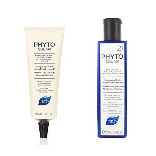 Phyto squam champu cheveux secs 2x250ml