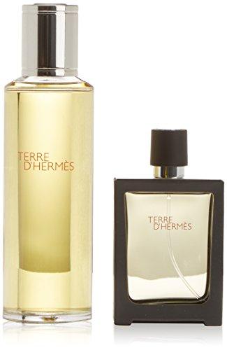 Hermes Terre EDP Vaporisateur/Spray Nachfüllbar 30ml + Nachfüllflasche 125ml für Ihn