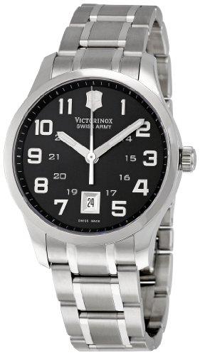 Victorinox Swiss Army 241322 Alliance - Reloj para hombre con esfera negra