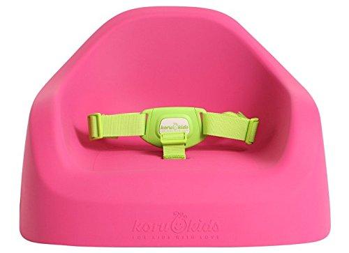 Koru Kids® Toddler Booster - Sitzerhöhung auf Stühlen für Baby Kleinkinder Kinder ab 12 Monate bis etwa 6 Jahre Boostersitz Kindersitz Stuhlsitz (Fuchsia)
