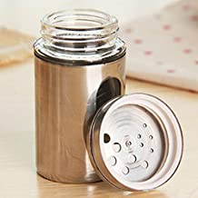 MZJJ Kitchen Tools Spice Bottle Seasoning Box Kitchen Seasoning Storage Bottle Salt and Pepper Powder Box Storage Rack Sto...