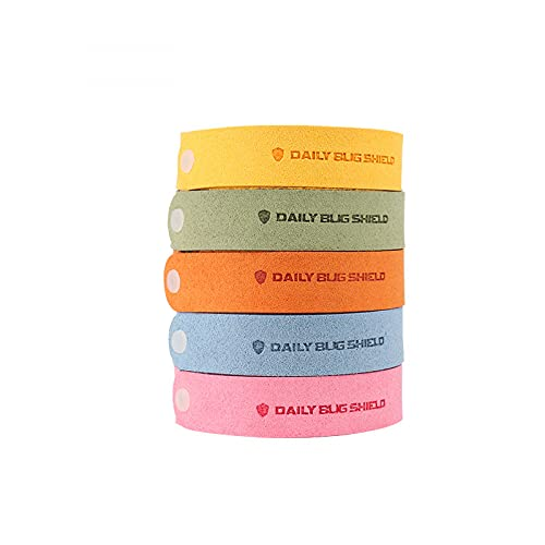 plhzh Mosquito Repellent Bracelet, Anti Mosquito Bracelet, Insect Repellent Band,Bug Bracelets, Anti Mosquito Wristbands Soft Material For Adults And Babies 5Pack