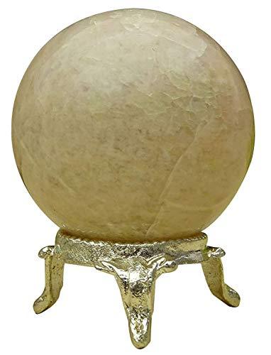 Reikiera Esfera De La Bola Hecha A Mano Melocotón Piedra Natural Piedra Preciosa Luna Sanación con Cristales Aura Equilibrio Regalo