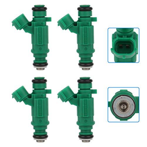 Injectors,cciyu 12 Holes Fuel Injectors Set fit for 1.8L 2003 2004 2005 2006 Sentra Compatible with 280156159 Injector, 4 Pieces