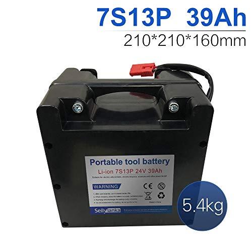 24V Li-ion batería dedicada a sillas de ruedas eléctricas Batería de plomo-ácido reemplazable 12Ah 15Ah 18Ah 24Ah 27Ah 30Ah 33Ah 36Ah 39Ah 42Ah 45Ah 48Ah 51Ah 54Ah 57Ah 60Ah (B-39Ah)
