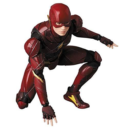 ZHANGH Justice League Action Figure-Flash Movie Flash Mobile Statue16cm-A