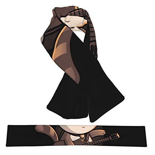Bufanda de forro polar suave y cálida para el cuello con...