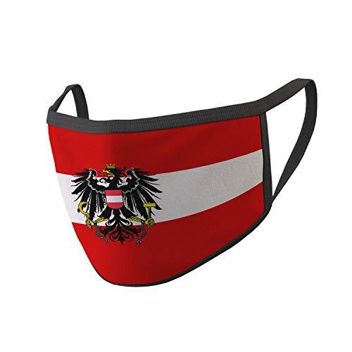 Copytec Maske Österreich Bundesheer Wien Adler Fahne Mund Flagge Austria #34670