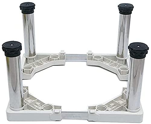Ghongrm Lavadora de Tambor Base de estantería Secadora Ajustable y refrigerador High Rack 28-31 cm Ancho/Longitud 42-70cm Congelador de Stent Frigorífico Base Base Base Reducción Efecto Espíritu Niv