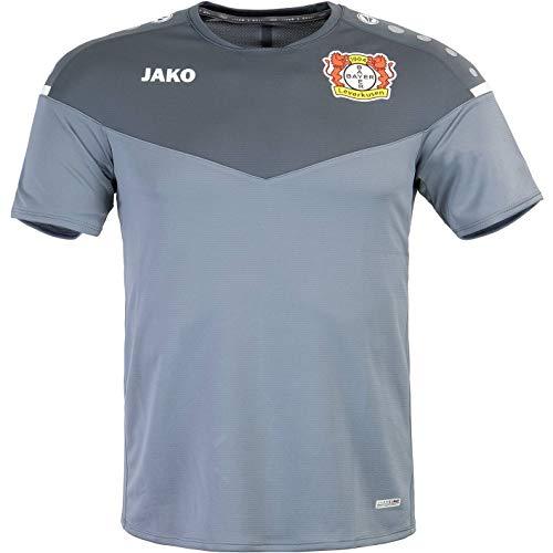 JAKO Bayer 04 Leverkusen Training Trikot (XL, Grey/Anthracite)