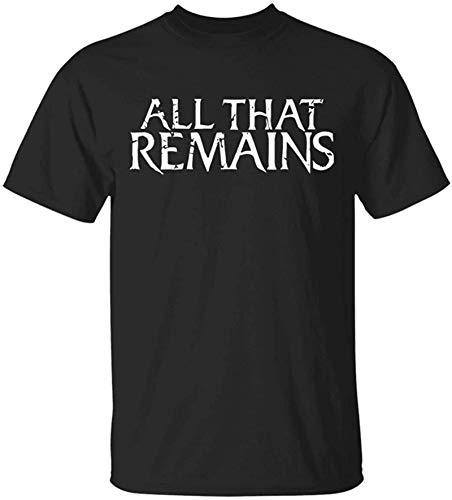 Cool All That Remains Logo Black New T-Shirt Funny Rock Band Shirt Heavy Metal tee Retro 90's Sitcom All That T-Shirt,S