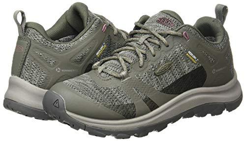 KEEN Women's Terradora 2 Waterproof Low Height Hiking Shoe, Dusty Olive/Nostalgia Rose, 7.5