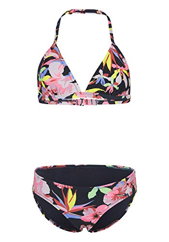 Chiemsee Mädchen Bikini, Dk Blu/Pink AOP, 170/176