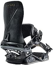 Rome Snowboards Katana Snowboard Bindings, Black, Medium/Large