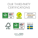 Eco by Naty, Size 3, 100 Diapers, 9-20 lbs, Plant-based premium ecological diaper with 0% oil plastic on skin