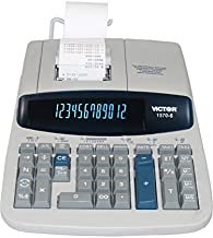 Sponsored Ad - Victor 15706 1570-6 Two-Color Ribbon Printing Calculator, Black/Red Print, 5.2 Lines/Sec photo