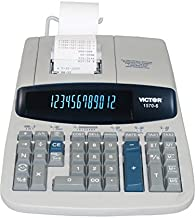 Victor 15706 1570-6 Two-Color Ribbon Printing Calculator, Black/Red Print, 5.2 Lines/Sec