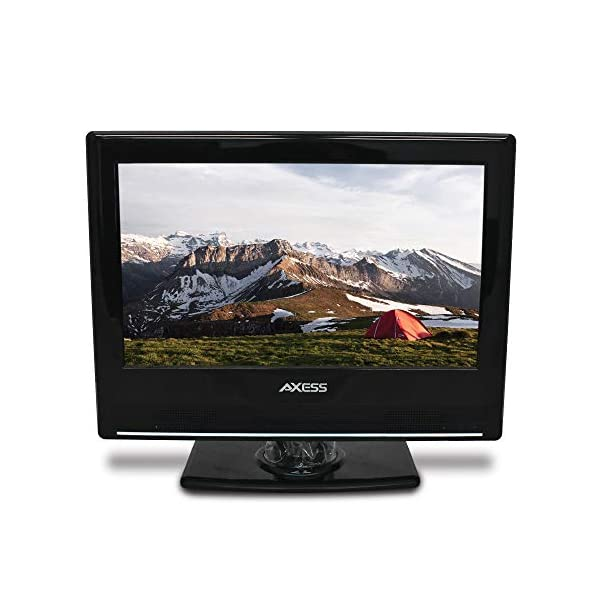 13.3-Inch LED HDTV, Features 12V Car Cord Technology, VGA/HDMI/SD/USB Inputs, Built-in DVD Player, Full Function Remote 2