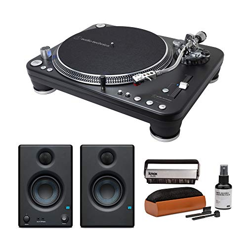 Discover Bargain Audio-Technica AT-LP1240-USB XP Direct-Drive Professional DJ Turntable with Presonu...