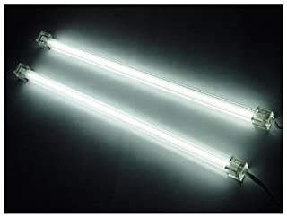 "Logisys CLK12 12"" Cold Cathode Kit with Dual Tube, 3.0mm Tube Diameter, White"
