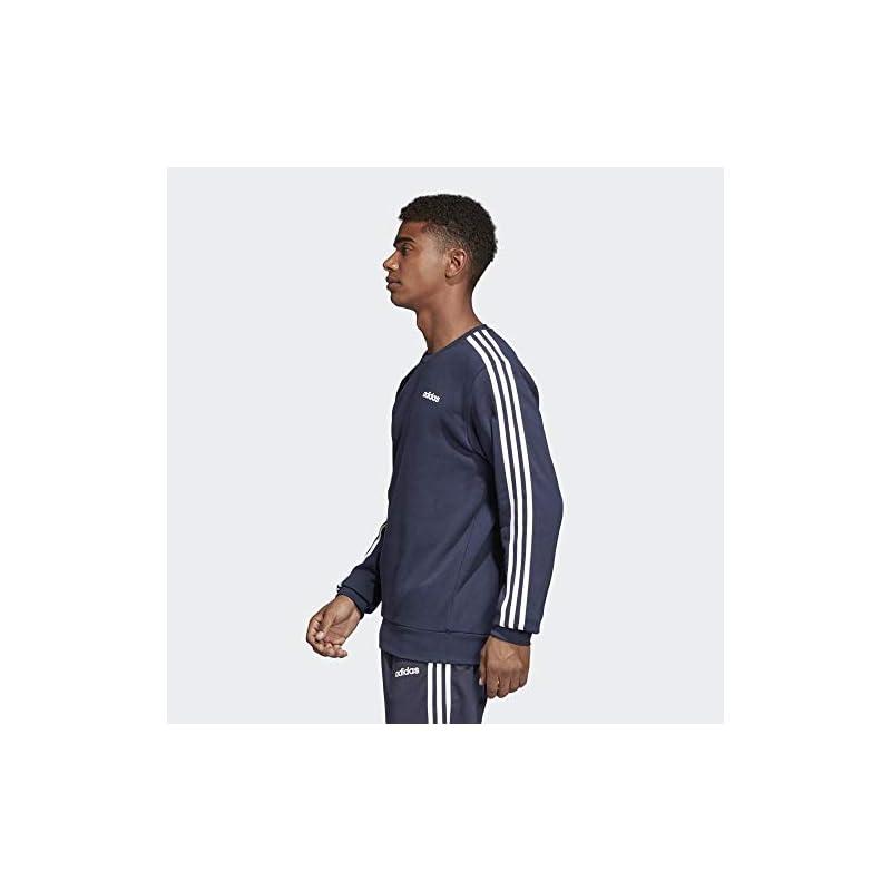 adidas Men's Essentials 3-stripes Sweatshirt Sweatshirt