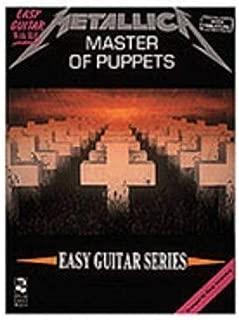 Hal Leonard Metallica - Master of Puppets - Easy Guitar (TAB)
