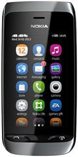 (Renewed) Nokia Asha 310 (Black)