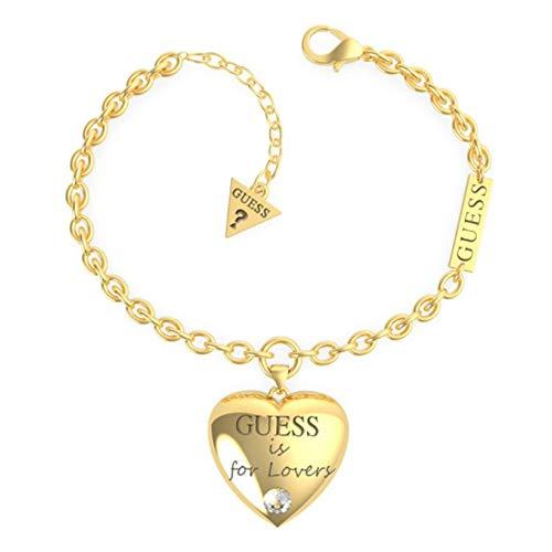 Guess Pulsera Bold Heart UBB70035-S Acero Dorado