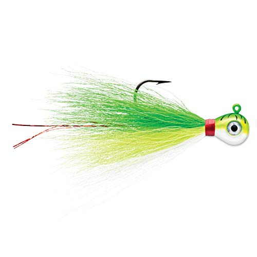 Price comparison product image VMC Bucktail Jig 3 / 8 Green Fire UV
