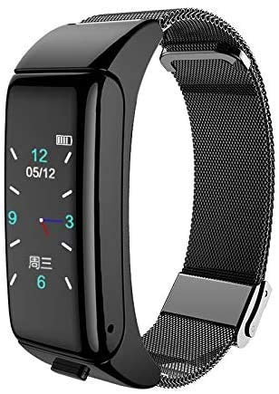 Fitness Tracker horloge met hartslagmeter Waterdichte slimme armband voor kinderen Dames Heren Smart horloge Sport Hartslag Bloeddrukmeter