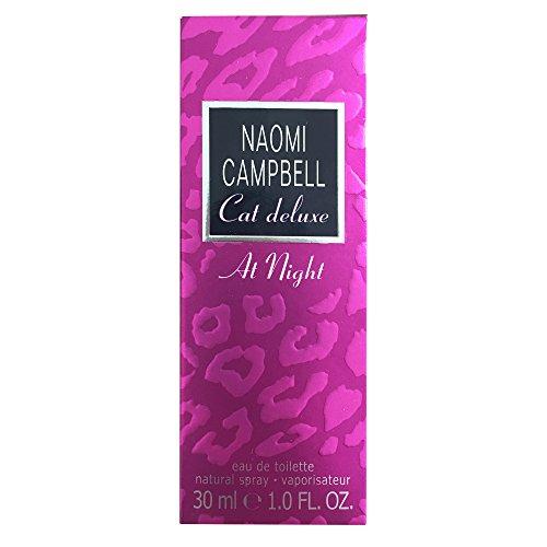 Naomi Campbell Eau de Toilette Cat Deluxe at Night, 30 ml (1er Pack)