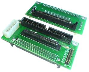 Adapter SCSI SCA, 80auf 68oder 50Punkte