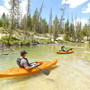Emotion Glide 9'8' Expect More Sit-in-Kayak 2-Pack