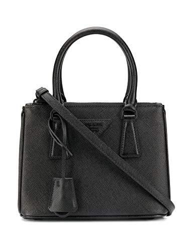 Luxury Fashion | Prada Dames 1BA906VDOOWNZVF0ES9 Zwart Leer Handtassen | Lente-zomer 20