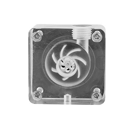 Diyeeni G1 / 4-draads waterpomp geruisloze waterkoelpomp voor computer-CPU-waterkoelsysteem, 12 V gelijkstroom stille werking CPU-waterpomp