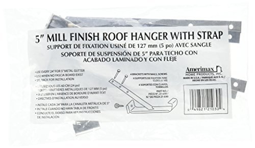 AMERIMAX HOME PRODUCTS 21030PK 5-Inch Aluminum Roof Hanger, by Amerimax Home Products