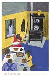 Art Poster Print - This is a Family Living in Harlem, 1943 - Artist: Jacob Lawrence- Poster Size: 24 X 18