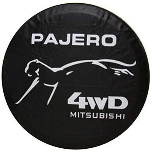 Cubierta para rueda de repuesto de 15 pulgadas para Mitsubishi Pajero compatible con neumáticos de repuesto de 15 pulgadas 27 pulgadas a 30 pulgadas