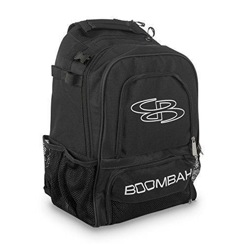 Boombah Wonderpack Baseball/Softball Bat Backpack - 13' x 8' x 20' - Navy/Columbia - Holds 4 Bats and Large Main Compartment
