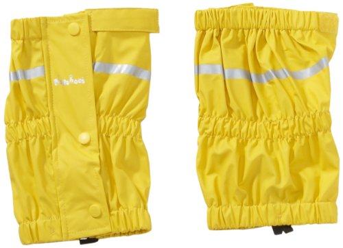 Playshoes Kinder Regen-Stulpen, wind- und wasserdichte Gamaschen für Jungen und Mädchen, mit seitlichen Druckknöpfen