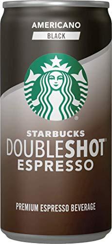 Starbucks Doubleshot Espresso, Americano Black, 6.5 fl oz. Cans, (12 Pack)