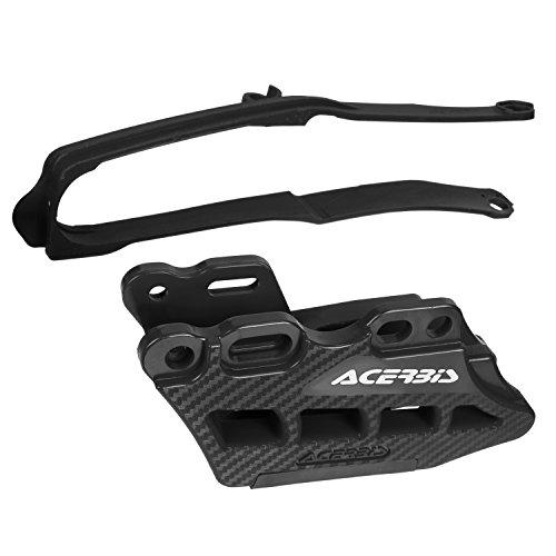 Acerbis Guide-chaîne/schwinge Meuleuse Kit Noir