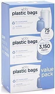 Ubbi Plastic Bags, 3 Count by Ubbi