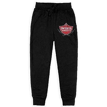 Shjsdf- Tshirt Swisher Sweets Teen Sweatpants,Sweatpants for Boys Black