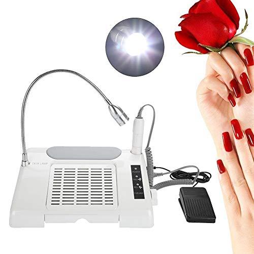 3 IN 1 Multifunktionale Nagelkunst Werkzeug Intelligent Nagellampe-elektrischer Kollektor 35000rpm mit LED Lampen für Pediküre Maniküre