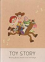 クラフトノートA5 TOY STORY Woody,Buzz,Jessie,and bullseye